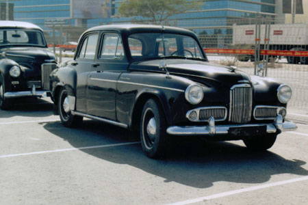 Humber Super Snipe Saloon Mark 4